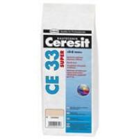 Ceresit CE33 Super glaistas siauroms siūlėms (iki 8 mm), manhattan (10), 2kg