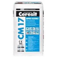 Ceresit CM17 Super flexible ypač elastingi plytelių klijai, 25kg