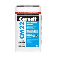 Ceresit CM22 Mega Format ypač elastingi plytelių klijai, 20kg