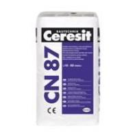 Ceresit CN87 Labai greitai kietėjantis grindų mišinys 10-80 mm storio pagrindui po grindų danga lieti, 25kg