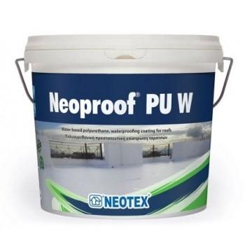 NEOPROOF PU W-40 poliuretaninė hidroizoliacinė danga, 4 kg