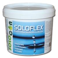 SOLOFLEX - elastinga hidroizoliacija lauko ir vidaus darbams, 6kg