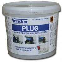 VANDEX PLUG - labai greitai stingstantis cementinis mišinys, 5kg