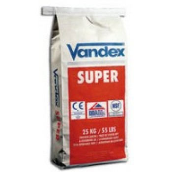 VANDEX SUPER kristalinė hidroizoliacija, 25 kg